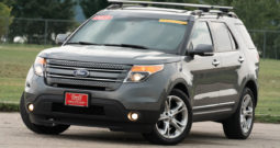 2013 Ford Explorer Limited, 4×4, NAV, Entertainment System, Heated and Cooled Leather Seats, Fully Loaded