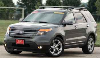 2013 Ford Explorer Limited, 4×4, NAV, Entertainment System, Heated and Cooled Leather Seats, Fully Loaded full
