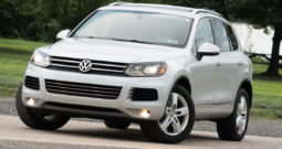 2013 Volkswagen Touareg VR6, AWD, NAV, Heated Leather Seats, Panoramic Sunroof, Alloy Wheels